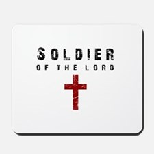 Soldier of the Lord Mousepad