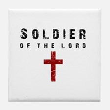 Soldier of the Lord Tile Coaster