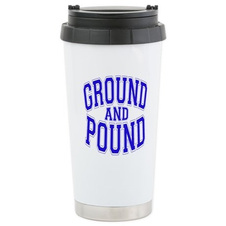 Ground and Pound Stainless Steel Travel Mug