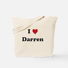 I love Darren Tote Bag
