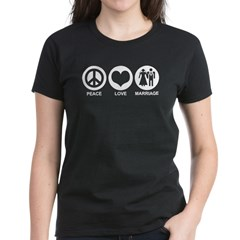 Peace Love Marriage Tee