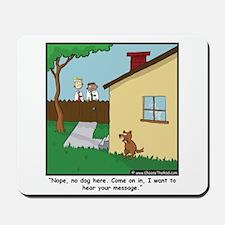 Dog Trap Mousepad