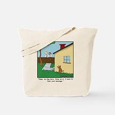 Dog Trap Tote Bag