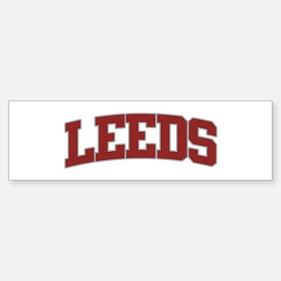 Leeds Bumper Stickers CafePress - Custom vinyl stickers leeds