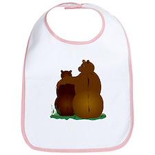 Warm & Fuzzy Bear Hug Bib