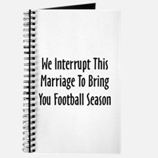 Football Season Warning Journal