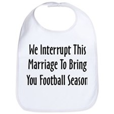 Football Season Warning Bib