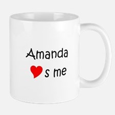 Unique Amanda name Mug