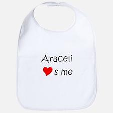 Cute Araceli Bib