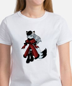 Gwynne the Arctic Fox Women's T-Shirt
