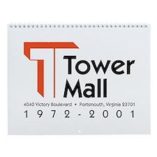 Tower Mall Wall Calendar