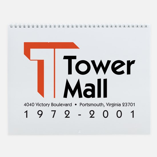 Tower Mall Wall Calendar