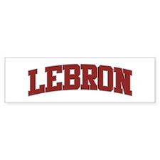 LEBRON Design Bumper Bumper Sticker