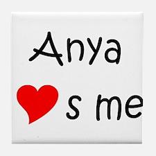 Funny Anya Tile Coaster