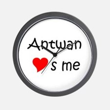 Unique Antwan Wall Clock