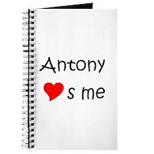 Funny Antony Journal