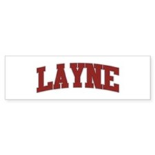 LAYNE Design Bumper Bumper Sticker