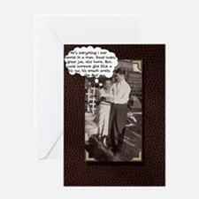 tic tac Greeting Card