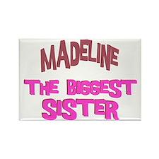 Madeline - The Biggest Sister Rectangle Magnet