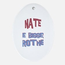 Nate - The Biggest Brother Oval Ornament