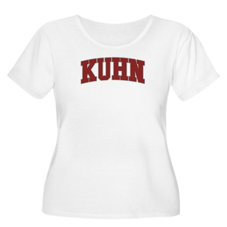 KUHN Design Women's Plus Size Scoop Neck T-Shirt