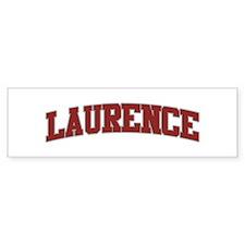LAURENCE Design Bumper Bumper Sticker