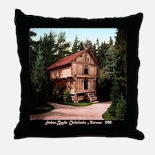 Stabur Bygdo, Christiania Throw Pillow