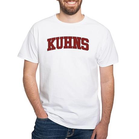 KUHNS Design White T-Shirt