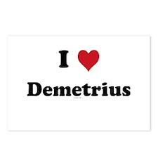 I love Demetrius Postcards (Package of 8)