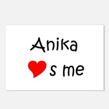 Unique Anika Postcards (Package of 8)