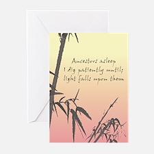 Genealogy Haiku Greeting Cards (Pk of 10)