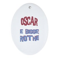 Oscar - The Biggest Brother Oval Ornament