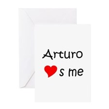 Funny Arturo Greeting Card