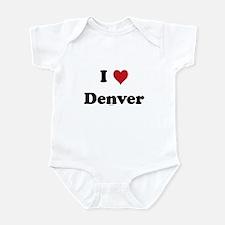 I love Denver Infant Bodysuit