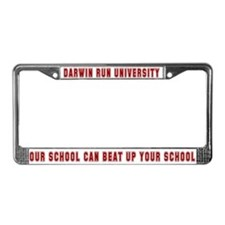 License Plate Frame - beat up