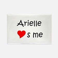 Unique Arielle Rectangle Magnet