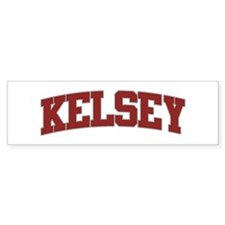 KELSEY Design Bumper Bumper Sticker