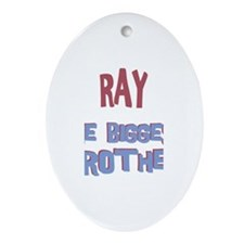 Ray - The Biggest Brother Oval Ornament