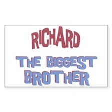 Richard - The Biggest Brother Rectangle Decal