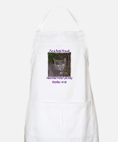 National Feral Cat Day 2 BBQ Apron