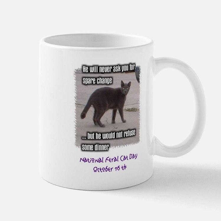 National Feral Cat Day Mug