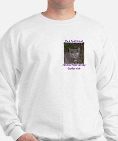 National Feral Cat Day 2 Side Sweatshirt
