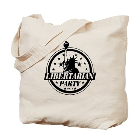 libertarian party Tote Bag
