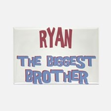 Ryan - The Biggest Brother Rectangle Magnet