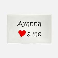 Unique Ayanna Rectangle Magnet
