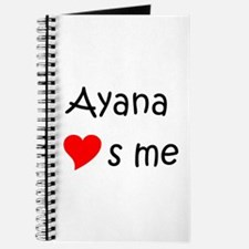 Cute Ayana Journal