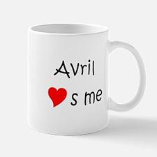 Unique Avril Mug