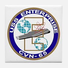Unique Navy enterprise Tile Coaster