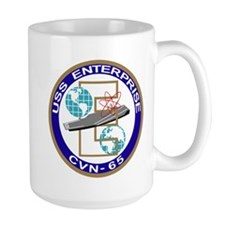 cvn_65 Mugs