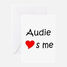 Funny Audie Greeting Card